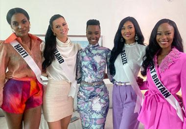 Hallitsevalta Miss Universumilta kunnianosoitus Viivi Altoselle